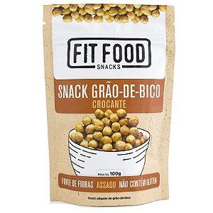 Snack Grao-de-Bico Levemente Salgado 100g FIT FOOD