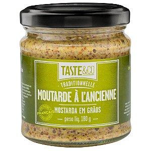 Mostarda Graos 180g TASTE & Co
