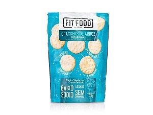 Cracker de Arroz Original 75g FIT FOOD