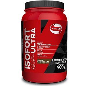 Whey Isolado Isofort Ultra Vitafor 900g Chocolate