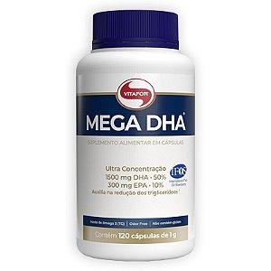 Mega DHA 1500mg Vitafor 120 cápsulas
