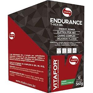 Endurance Gel Carboidrato Vitafor 12 saches Frutas Cítricas
