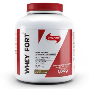 Whey Fort Vitafor 1800g Chocolate