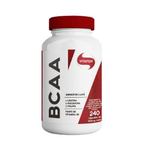 Aminofor BCAA Vitafor 240 cápsulas