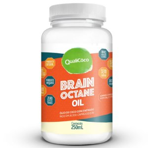 Brain Octane Oil MCT Qualicôco 250 ML