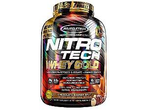 Nitro tech Whey Gold Muscletech 2,50kg Chocolate Banana Split