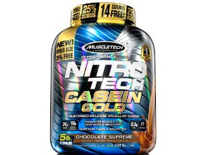 Nitro tech Casein Gold Muscletech 2,28kg Chocolate Supreme