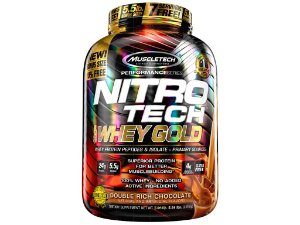 Nitro tech Whey Gold Muscletech 2,51kg Chocolate