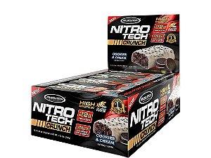 Nitro tech Crunch Bar Muscletech Cookies and Cream