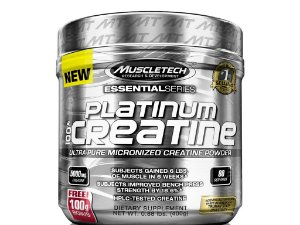 Platinum Creatina 100% Pura Muscletech 400g