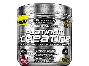 Creatina Micronizada Platinum 100% Pura Muscletech 400g