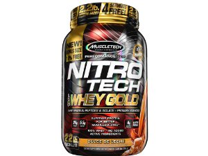 Nitro tech Whey Gold Muscletech 999g Doce de Leite