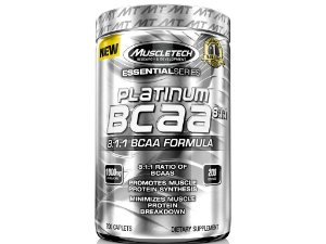 Platinum Bcaa 8:1:1 Muscletech 1000 mg 200 tablets