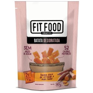 Batata Doce Desidratada Fit Food 60g