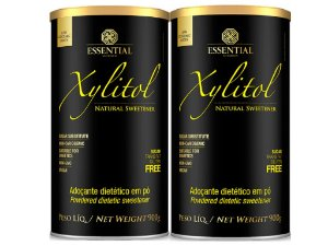 Kit - 2 Xylitol Adoçante Essential Natural 900g