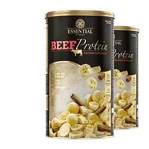 Kit - 2 Beef Protein Essential Banana com Canela 420g