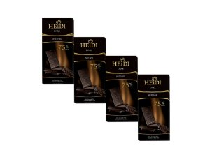 Kit - 4 Chocolate Heidi Amargo 75% 80g