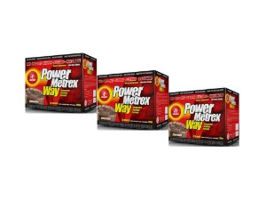 KIT 3 POWER METREX WAY MIDWAY 20 SACHÊS 80G
