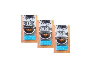 KIT 3 ESPAGUETE DE FEIJÃO PRETO FIT FOOD 200G