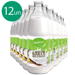 Kit 12 Leite de coco Qualicôco 500ml