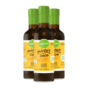 Kit 3 Néctar de coco da Qualicôco 250ml