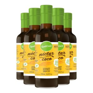 Kit 5 Néctar de coco da Qualicôco 250ml