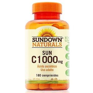 Vitamina C 1000mg Sundown 180 Tablets