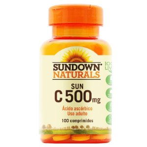 Vitamina C 500mg Sundown 100 Tablets