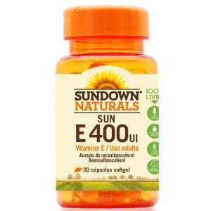Vitamina E 400 IU Sundown 100 Cápsulas