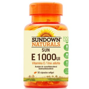 Vitamina E 1000 IU Sundown 50 Cápsulas