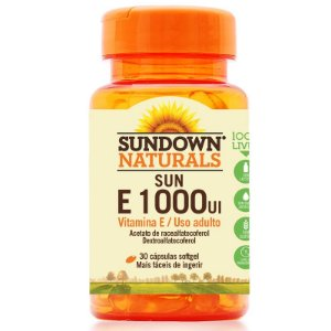 Vitamina E 1000 Ui Sundown 30 Cápsulas