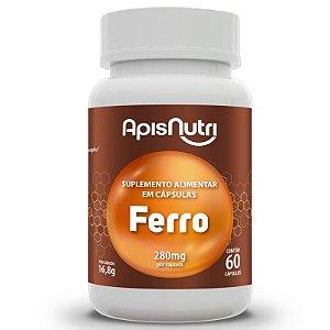 Suplemento Mineral de Ferro Apisnutri 60 Cápsulas