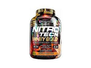 Nitro Tech Whey Gold Vanilla Funnel Cake Muscletech 2.50kg