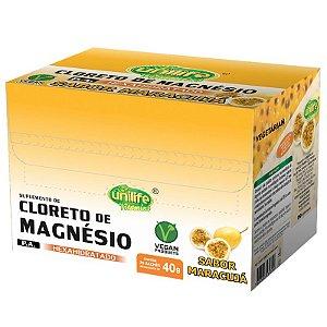 Cloreto de Magnésio 40g Unilife Sabor Maracujá