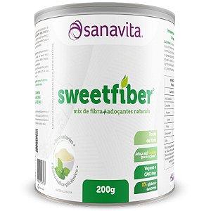 SweetFiber Mix de Fibra + Adoçantes Naturais Sanavita 200g