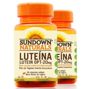 Kit 2 Lutein OPT 20mg Luteína Sundown 30 cápsulas