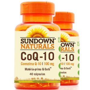 Kit 2 Coenzima Q-10 100mg Sundown 40 cápsulas