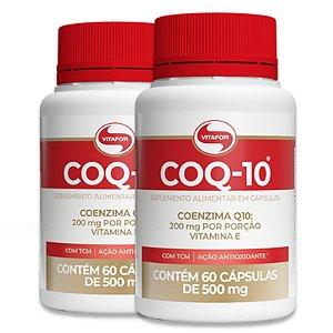 Kit 2 Coenzima Coq-10 Vitafor 60 cápsulas