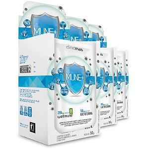 Kit 3 Mune + para imunidade Wellmune Chá mais 10 Sachês