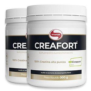 Kit 2 Creatina Creafort Vitafor Pote 300g