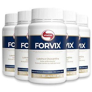 Kit 5 Forvix Vitafor 120 Cápsulas