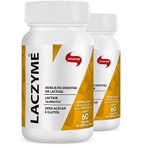 Kit 2 Laczyme 450mg Vitafor 60 cápsulas