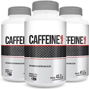Kit 3 Cafeína Caffeine 480mg Chá Mais 90 cápsulas