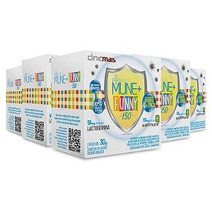 Kit 5 Mune + Funny 150 para imunidade infantil Chá mais
