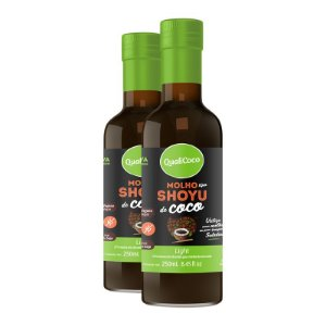 Kit 2 Shoyu de coco Qualicôco 250ml