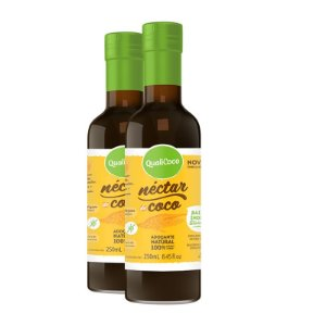 Kit 2 Néctar de coco da Qualicôco 250ml