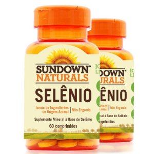 Kit 2 Selênio 34mcg Sundown 60 cápsulas