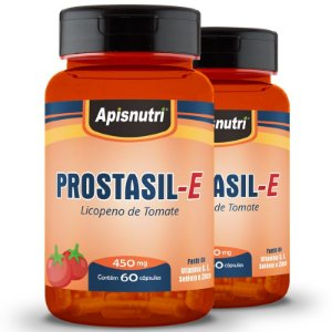 Kit 2 Prostasil-E Licopeno Apisnutri 60 cápsulas
