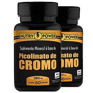 Kit 2 Picolinato de Cromo Apisnutri 60 Cápsulas