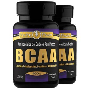 Kit 2 BCAA 4:1 Nutry Power 120 cápsulas